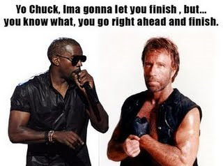 chuck norris kanye west ima let you finish