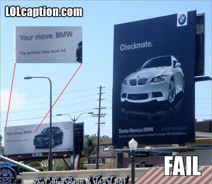 funny-fail-pics-bmw-checkmate-pwns-audi-your-move-bmw