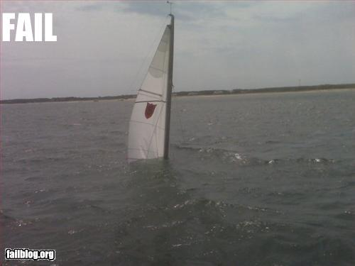 fail pics sailing failure