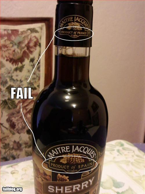 funny fail pics product of france product of spain
