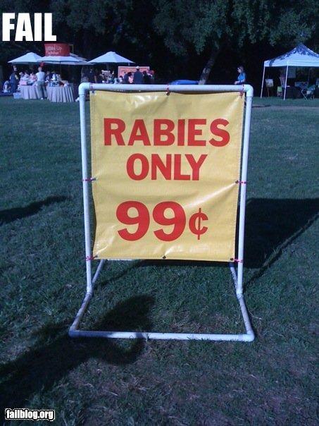 epic fail free rabies