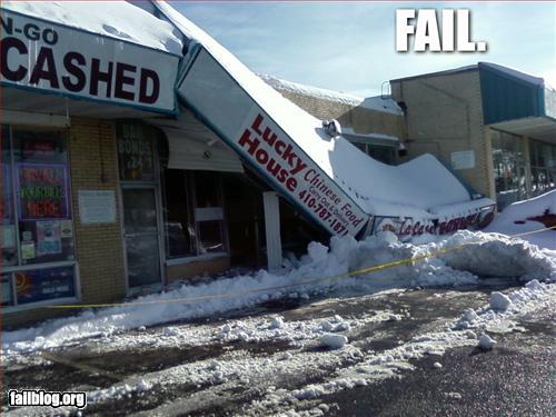 funny fail pics snowstorm fail
