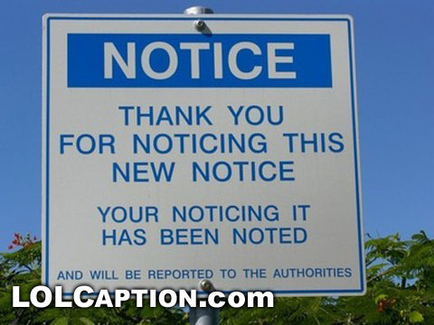 thank-you-for-not-noticing-this-sign-lolcaption