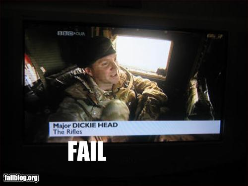 epic name fail dickie head