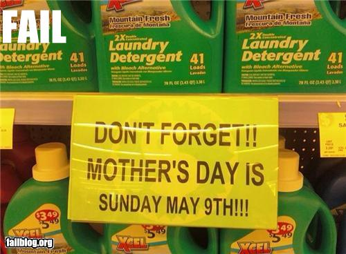 mothers day fail