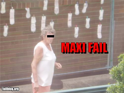 maxi fail wtf washing maxi pads