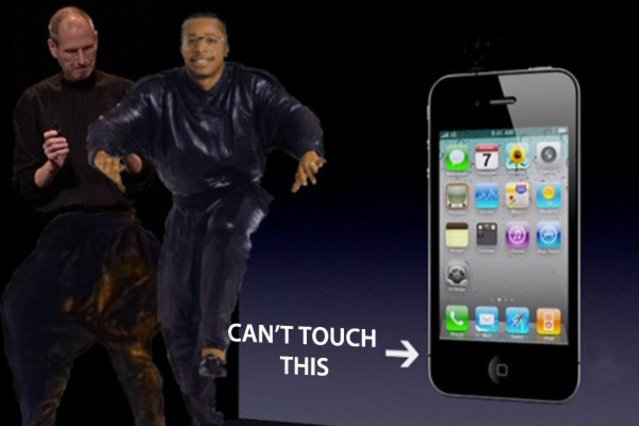 what cant you do with the iphone 4
