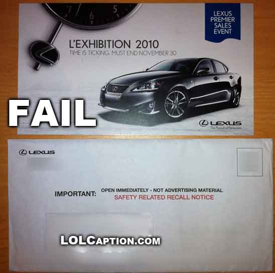 lexus-2010-safety-recall-same-time-as-sales-letter-epic-fail