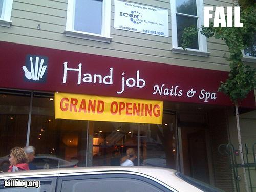 funny fail pics epic fail spa name shop name