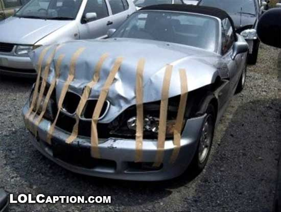 funny-fail-pics-lolcaption-bmw-sticky-tape