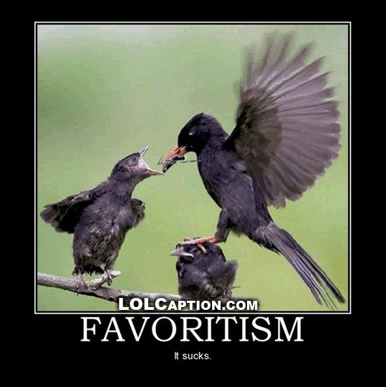 funny-animal-demotivational-pictures-lolcaption-favoritism-it-sucks