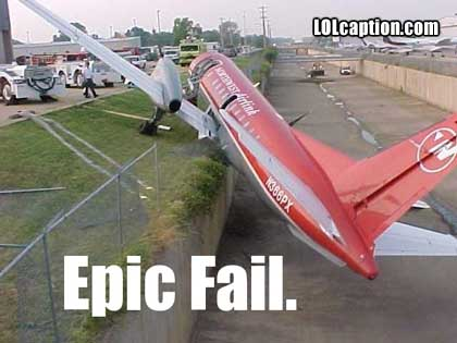 jet_plane_crash_epic_fail_plane_on_side_in_drain