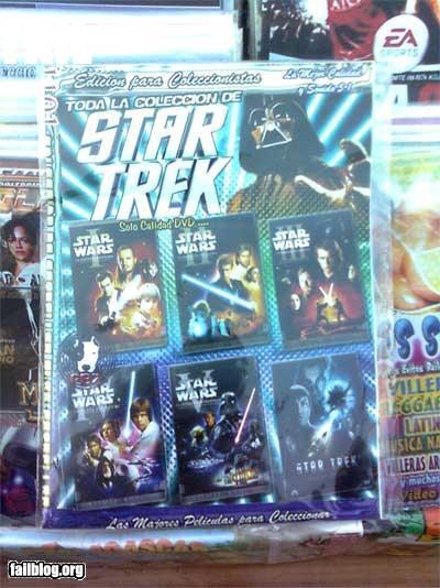funny fail pics star trek star wars epic dvd cover fail