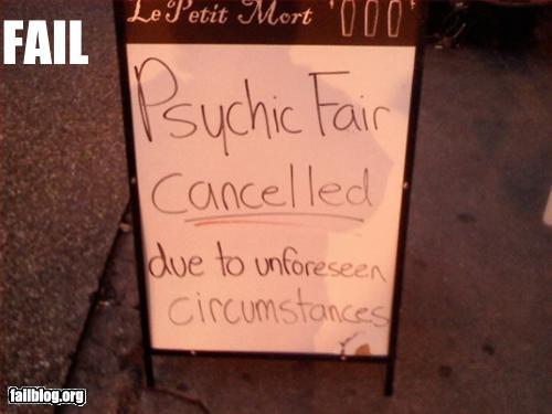 funny fail pics psychic fail