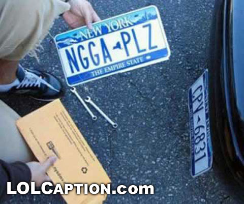 funny-number-plate-licence-plate-ngga-plz