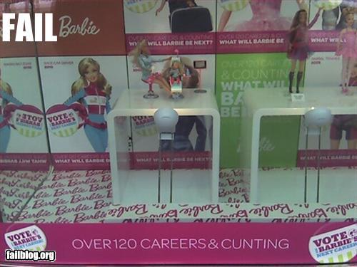barbie advert epic spelling mistake
