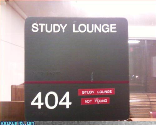 study room not found
