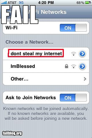funny fail pics wifi access point iphone failure