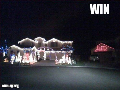 funny win pics xmas lights