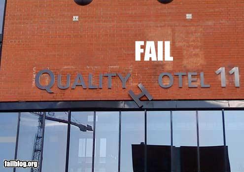 funny fail pics quality hotel