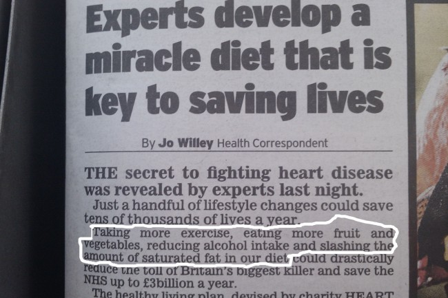 funny-newspaper-articles-Breakthrough-Research-miracle-diet