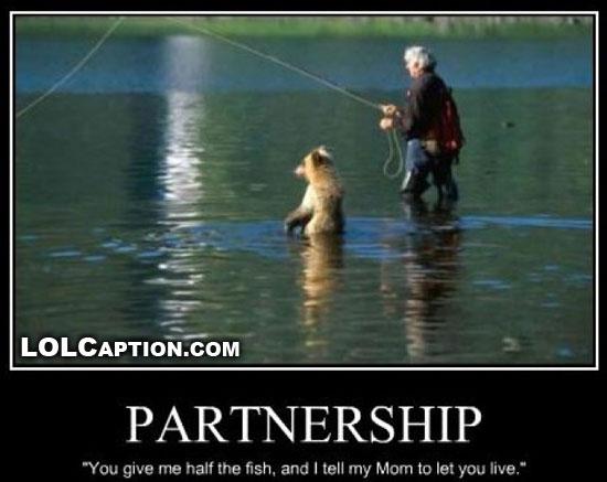 lolcaption-funny-demotivational-posters-partnership-bear-fishing