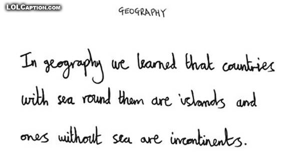 geography-islands-incontinents-why-teachers-drink-funny-kids-exam-answers-lolcaption