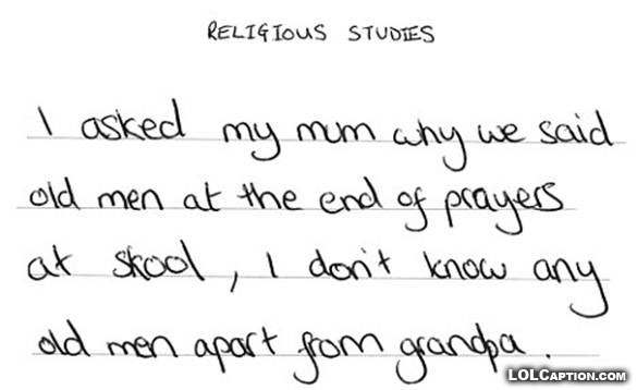religious-studies-old-men-why-teachers-drink-funny-exam-answers-lolcaption