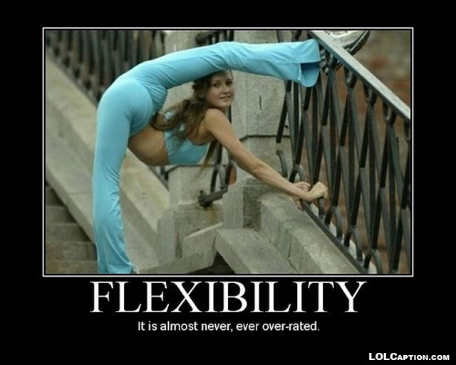 funny-demotivational-posters-lolcaption-funny-flexibility-never-overrated